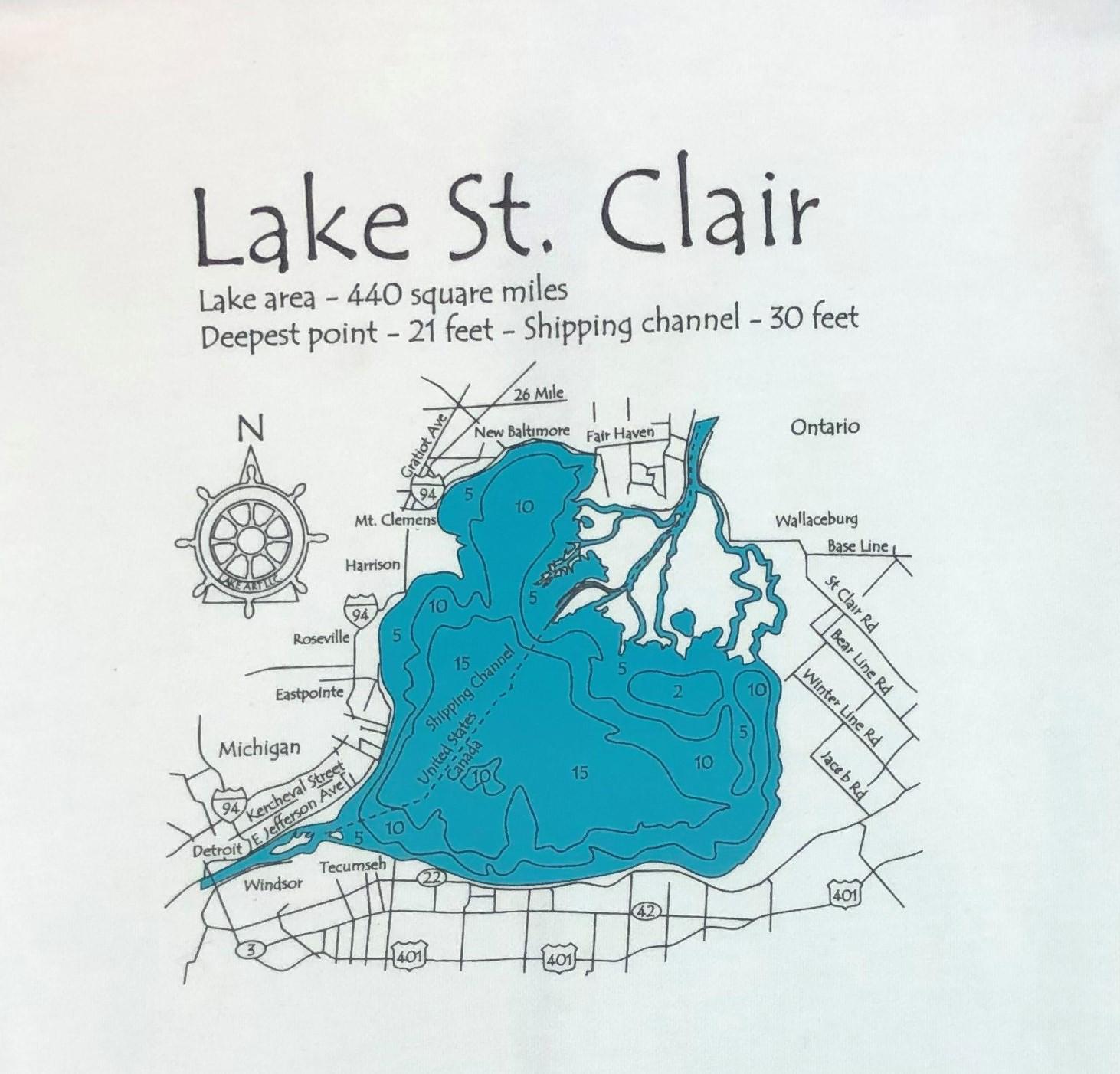 Lake St. Clair Logo