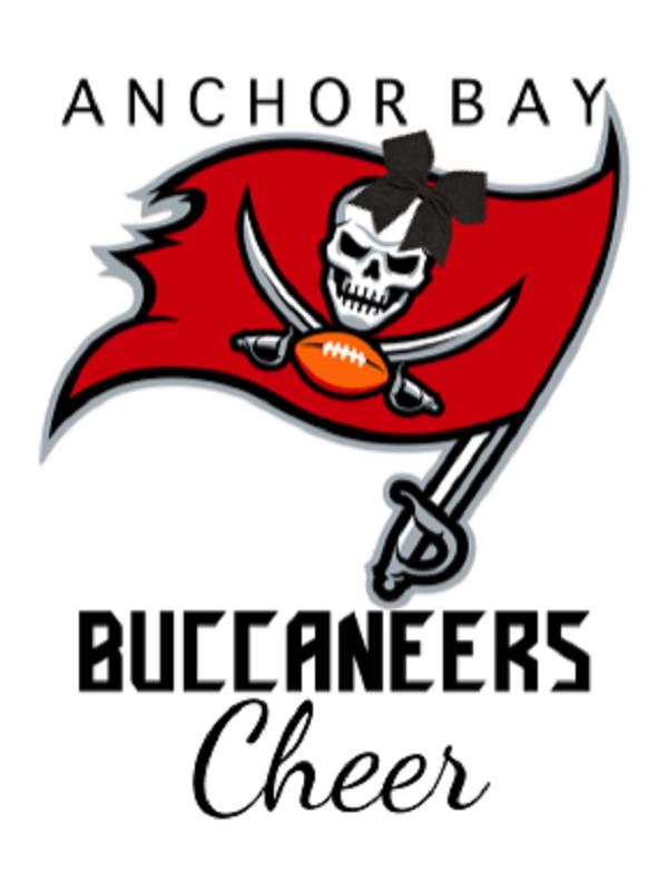 Anchor Bay Buccaneers Cheer Logo